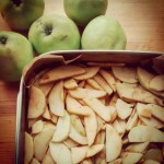 Szarlotka na antonowkach szarlotka jablecznik diy wypieki jablka owoce cynamonhellip