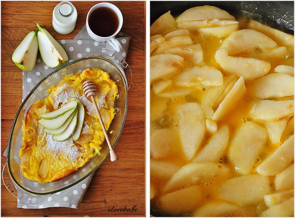 pancake-z-piekarnika-z-gruszkami-przepis