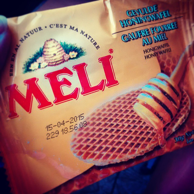 #sweet moment #honey #meli #waffle
