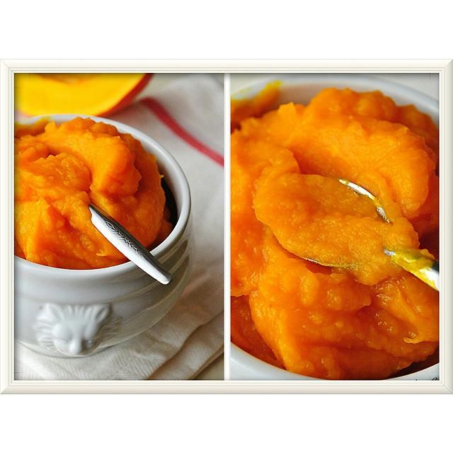 Mus z dyni przepis+wykonanie na blogu #ilovebake_pl #pumpkin #piefilling #puree #autumn #food
