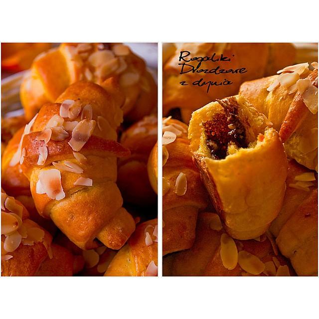 Rogaliki dyniowe z nutella now wpis na #ilovebake_pl #pumpkin #instafood #autumn #rollbuns #sweet #instapicture #inspiration