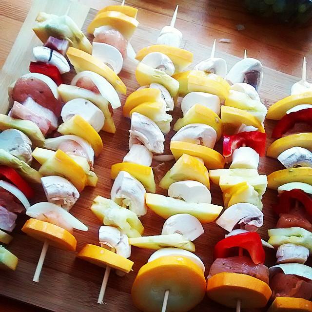 Szaszlykujemy ;)#food