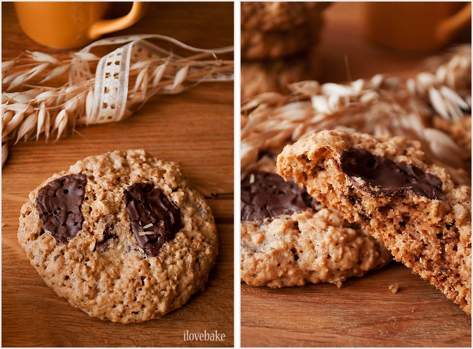 ciastka-owsiane-z-czekolada-ilovebake