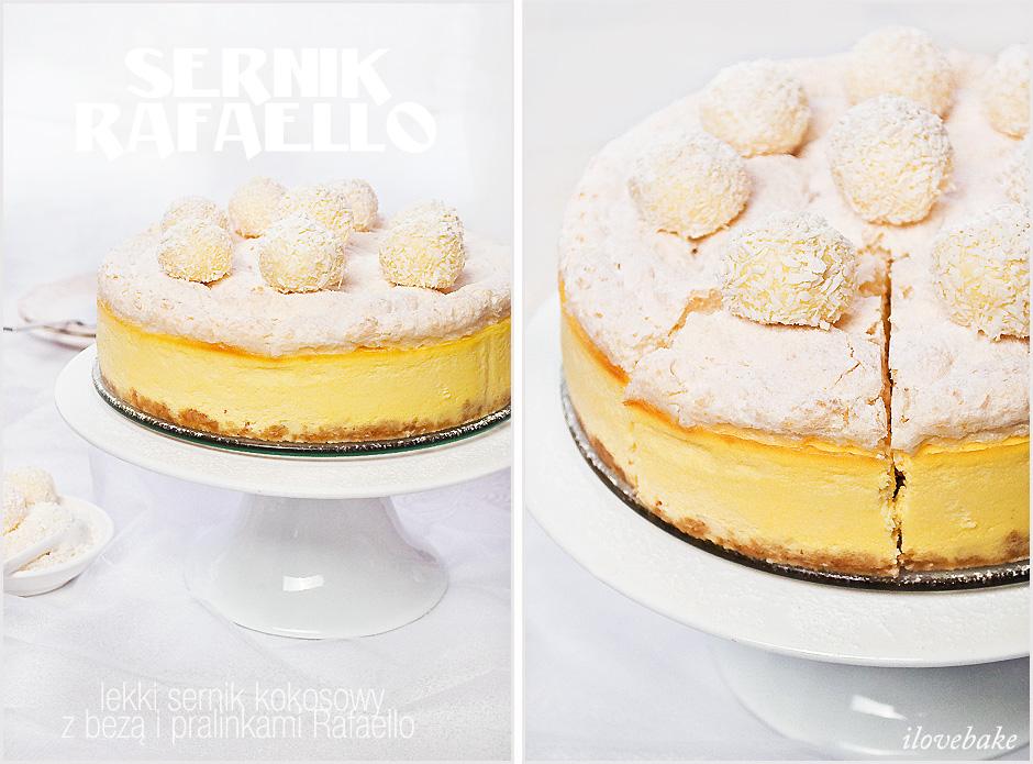 sernik-kokosowy-z-bezą-rafaello