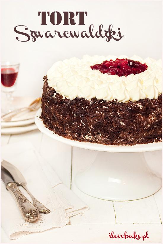 tort szwarcwaldzki czarny las