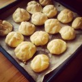 Ptysie #cream #puffs #food #photo