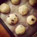 Brioszki z zurawina #food #cranberry #brioche #sweet #dessert