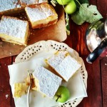Szarlotka szarlotka ciasto jablka antonowki deser budyn krucheciasto wypieki applehellip
