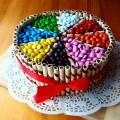 Urodzinowy #birthday #cake #m&ms #foodies #yummy #kids #color