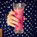 #smoothie #fruit #foodies #healthy #morning #pink #foodporn