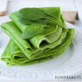 Healthy crepes follow me on @ilovebake.pl #spinach #green #food #vegan #breakfast