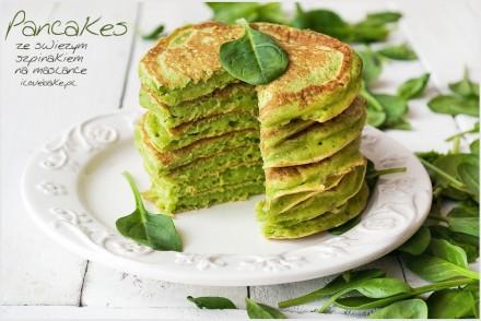 pancakes-ze-szpinakiem-przepis