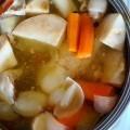 W zimne dni najlepiej ogrzewa rosol ?:-D #domowy #rosol #zupa #zimno #soup #chicken #vegetable #healthy