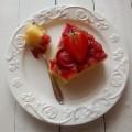 Poniedzialek trzeba oslodzic ☞ ?#recipe #cake #food #upsidedown #foodporn #jedzenie #ciasto #truskawki