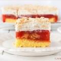 Przekladaniec ciasto z masa rabarbarowa i bita smietana link w profilu ??? #rabarbar #ciasto #bitasmietana #deser #herbatniki #jedzenie #warstwowe @ilovebake.pl #foodlover #rhubarb #cake #layer #whippingcream #foodporn #foodshare #foodshonista #foodiesofinstagram