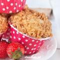 Wez mnie na majowke ☞ ? link na stronie glownej #muffinki #truskawki #owoce #deser #majowka #jogurt #jedzenie #muffins #yogurt #strawberry #healthy #diet #delicious #delish #foodporn #foodies #fruit #may