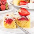 Dzien dziecka na slodko czyli ciasto z truskawkami i kruszonka link w profilu @ilovebakepl #dziendziecka #ciasto #deser #truskawki #czerwone #czerwiec #yummy #pycha #sezon #strawberry #fruit #cake #foodlover #delish #foodies