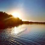 Nad woda zachodslonca woda jezioro gizycko2015 wakacje lato love summerhellip
