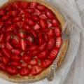 Tarta z truskawkami ???? #tarta #truskawki #sezon #czerwiec #owoce #deser #mniam #pychotka #jedzenie #tart #strawberry #dessert #yummy #delish #foodlover #foodporn #foodies
