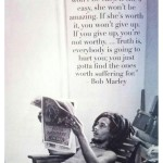 Te slowa  cytat bobmarley quote inspiration good evening lifequoteshellip