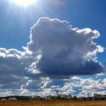 Przepiekne niebo  niebo slonecznydzien jesie pogoda pieknydzien niebieskie chmuryhellip