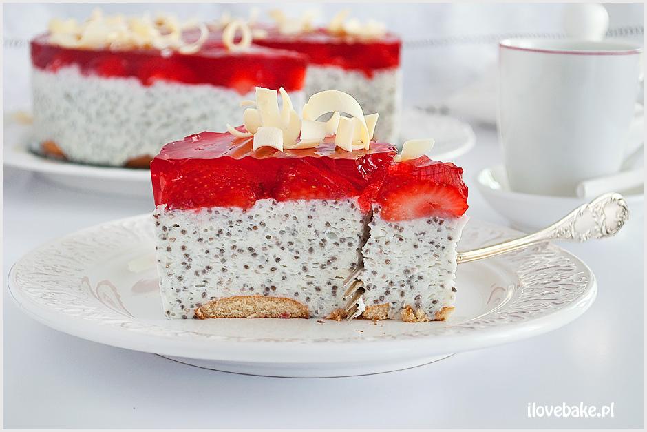 Deser Z Chia Owocami I Galaretka I Love Bake