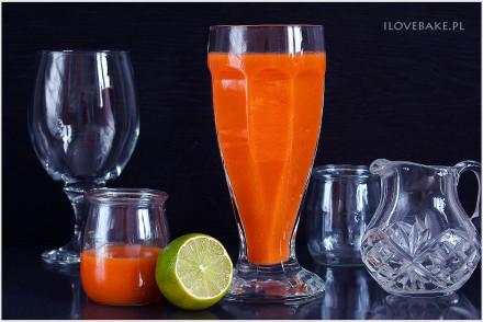 sok z marchwi przepis