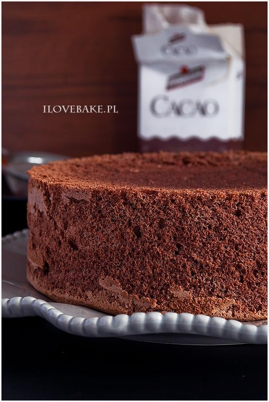 kakaowy biszkopt