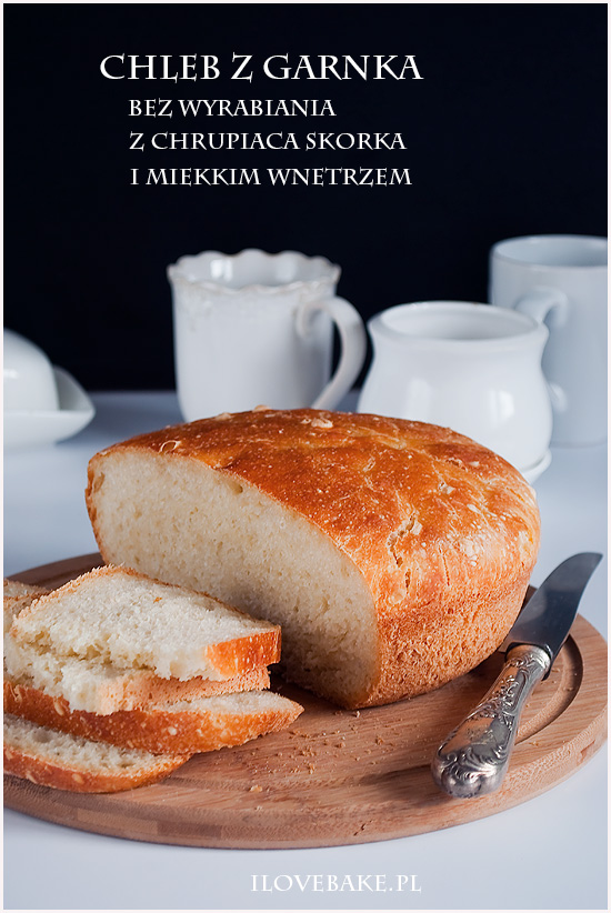chleb z garnka przepis