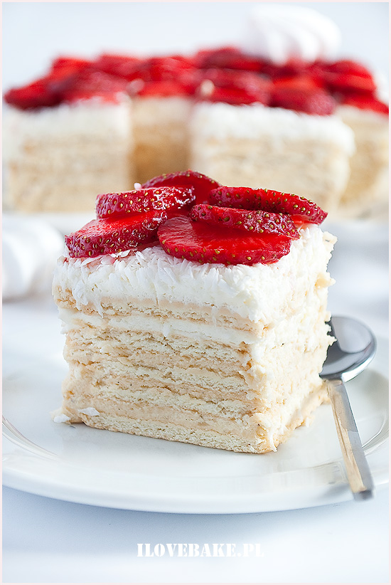 ciasto rafaello