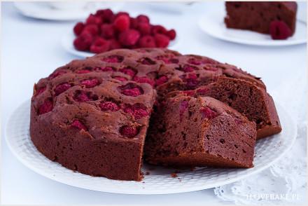 ciasto-czekoladowe-z-malinami-9