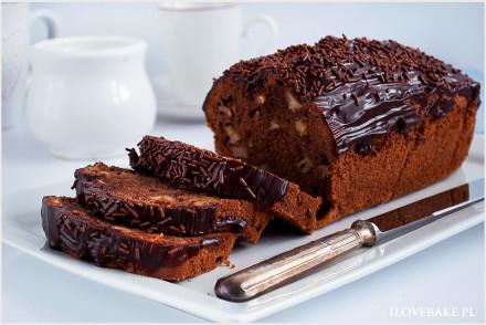ciasto czekoladowe z jablkami