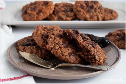 ciastka owsiane czekoladowe-7