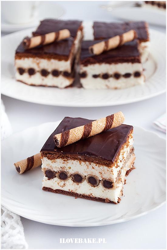 ciasto z rurkami bez pieczenia