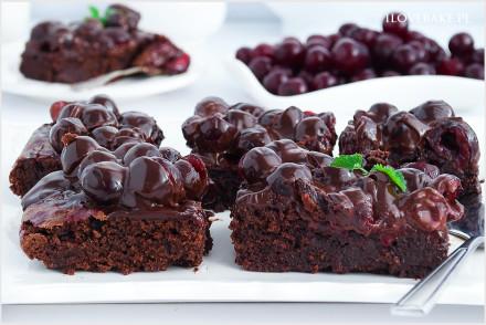brownie wiśnia w czekoladzie-12