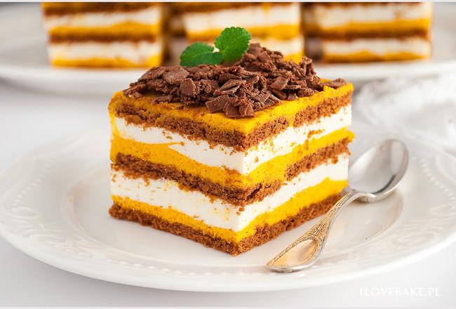 Ciasto dyniowe bez pieczenia-15