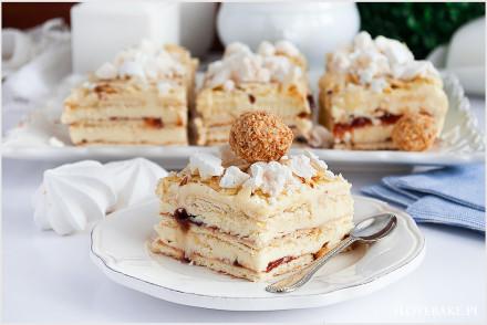 Ciasto Pani Walewska bez pieczenia-9