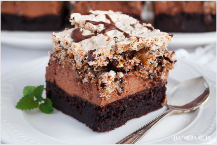 Czekoladowe ciasto prince polo-10