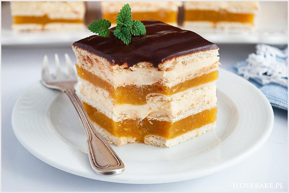 Ciasto Delicja Z Jablkami I Serem I Love Bake
