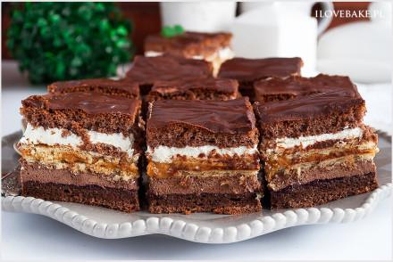 ciasto kakaowa krówka-7