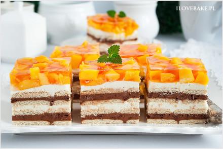 Ciasto z mango bez pieczenia -8