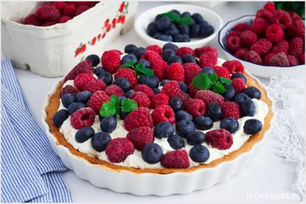 Tarta z mascarpone i owocami-4