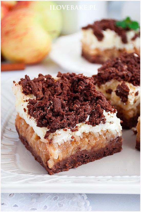 ciasto z budyniową pianka