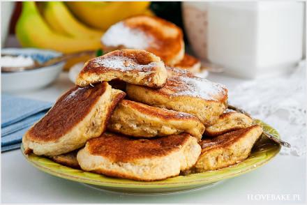 Bananowe placki z 3 składników-4