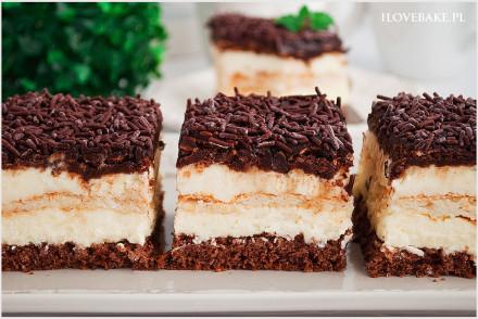 Ciasto kokos w czekoladzie