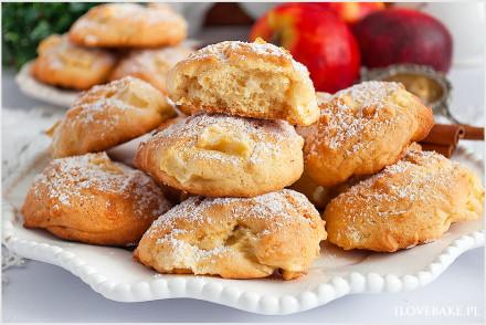 Ciasteczka biszkoptowe z jabłkami-10