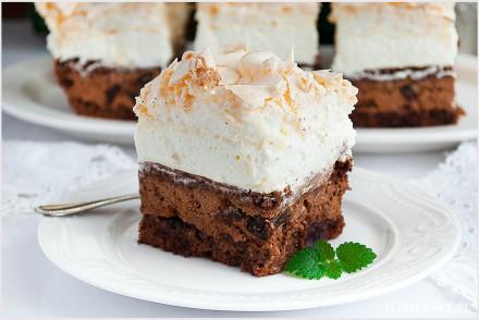 Ciasto bezowa śliwka w czekoladzie-8