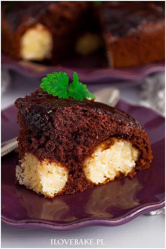 ciasto z kulkami kokosowymi
