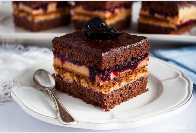 Ciasto kajmakowa porzeczka