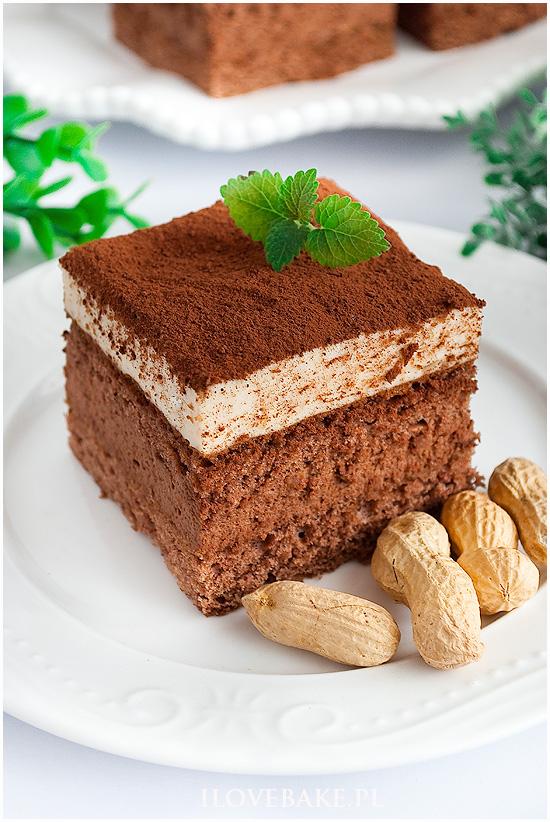Ciasto orzech w czekoladzie
